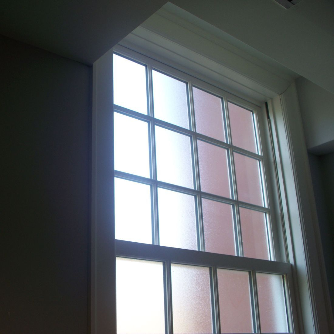 Frosted Window Films in a Range of colours for Privacy