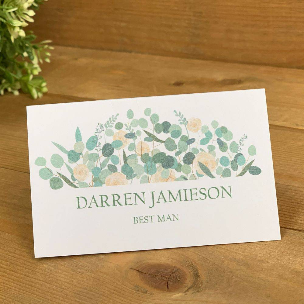 Ivory and Sage green, Eucalyptus Place Names