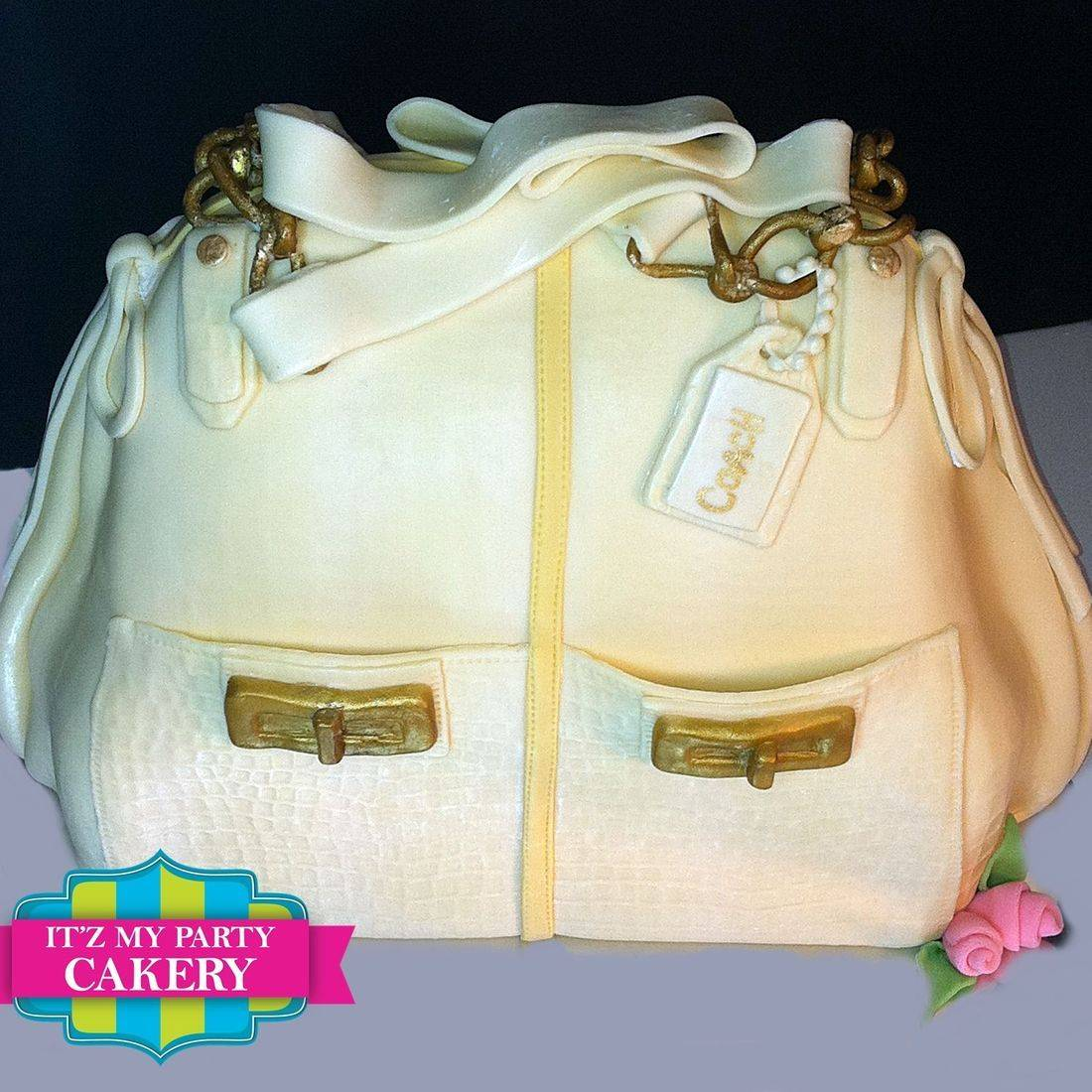 Off white coach purse Dimensional Cake Milwaukee