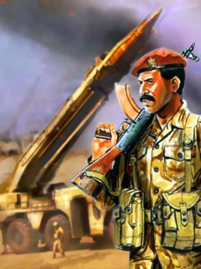 iraqi army, scuds, iraq, desert storm, dick cheney, bush, powell, schwarzkopf, business