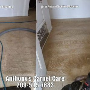 Rotary Carpet Steam Cleaning Riverbank CA