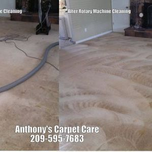Rotary Carpet Steam Cleaning Modesto CA