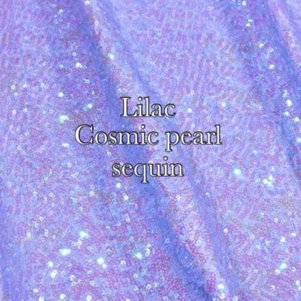 lilac sequin