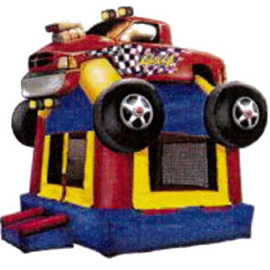 4 x 4 Monster Truck Jump 15'x15'