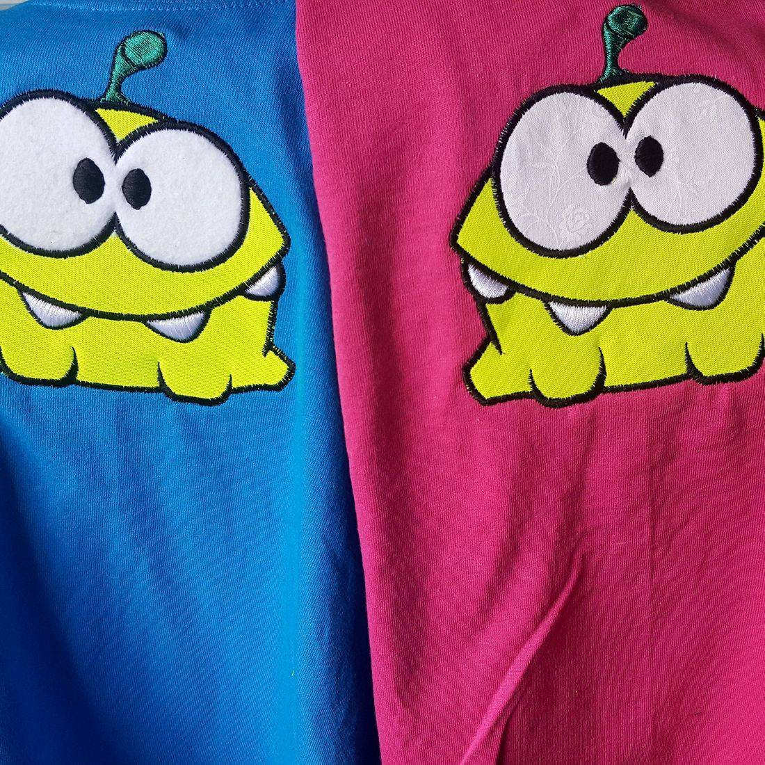 Embroidered Monster T-Shirts