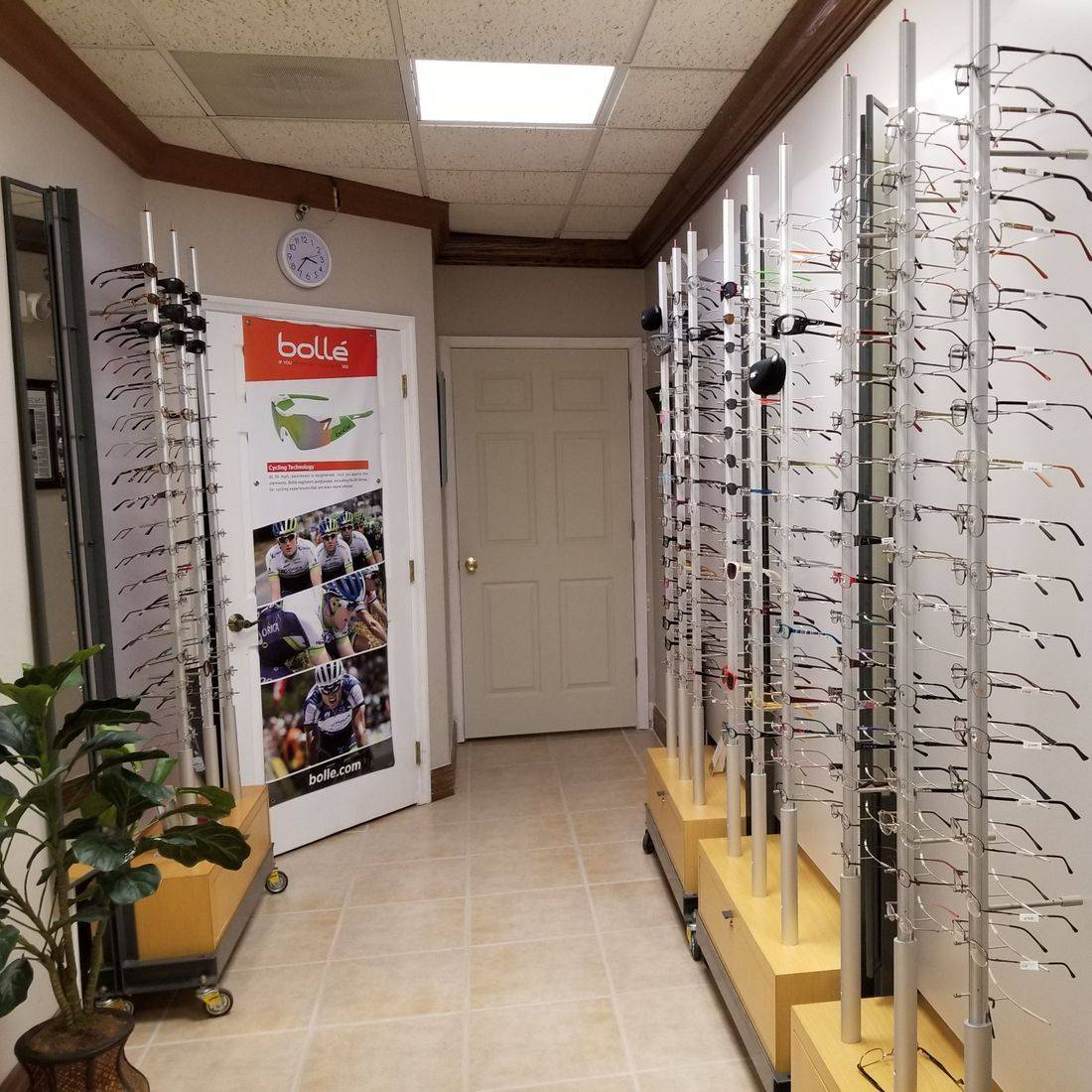 Florida Optical Eyeglass Frame Showroom