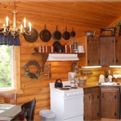 Log cabins, historic ranch, guesthouses