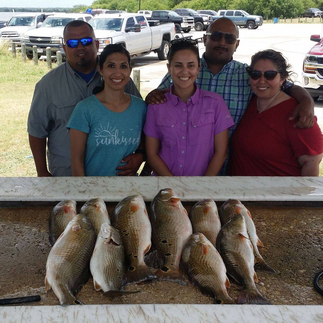 San Antonio Fishing, Calaveras Lake, Redfish Fishing