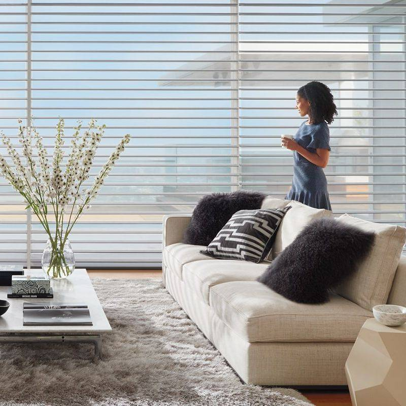 Silhouette Sheer Fabric Shades Blinds