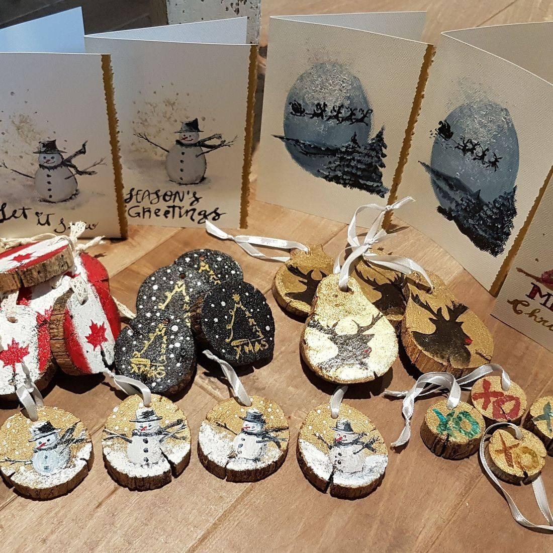 Tree Ornaments, Holidays cards
