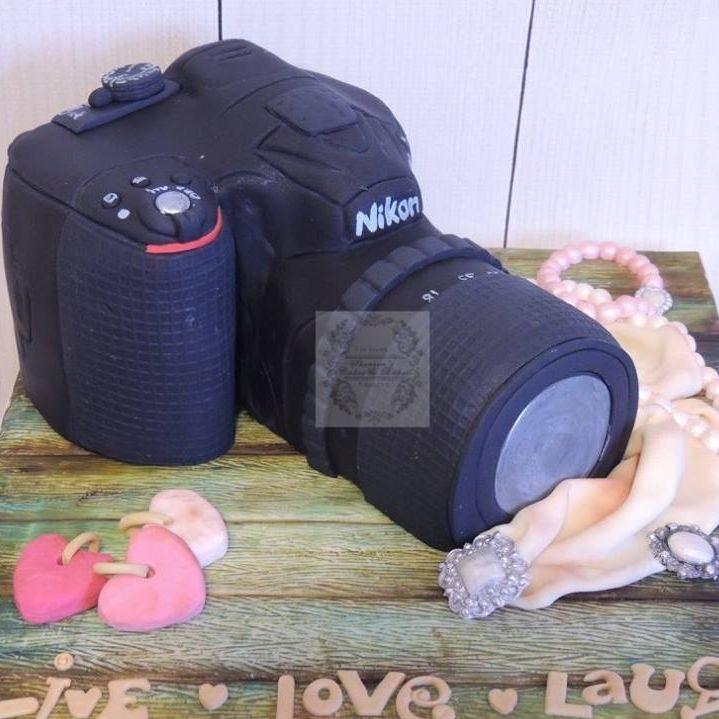 Camer Photograph Photography  Birthday Celebration Novelty Cake