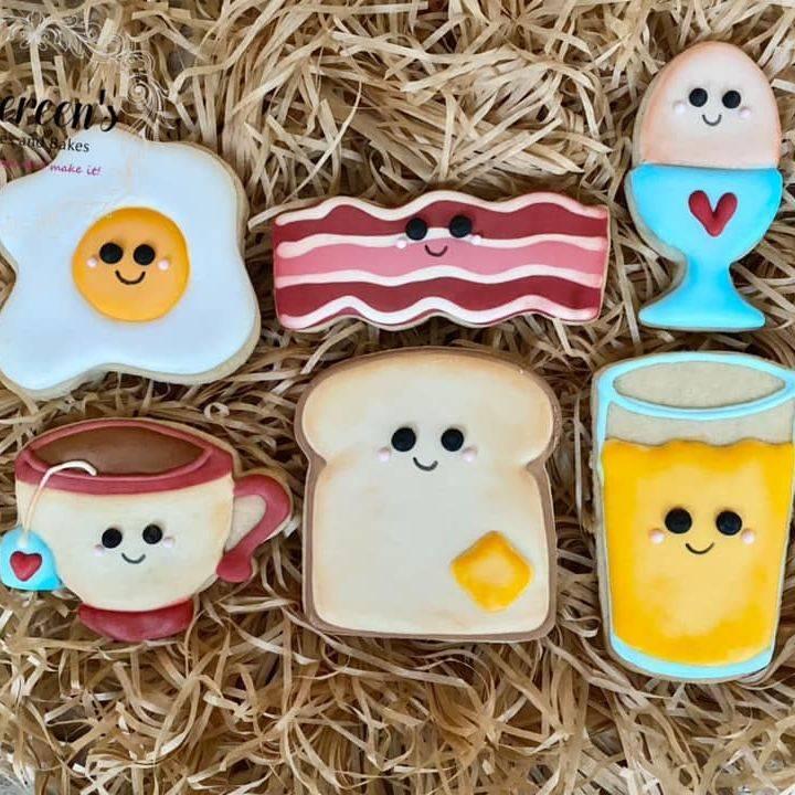 Kawaii Breakfast Cookies