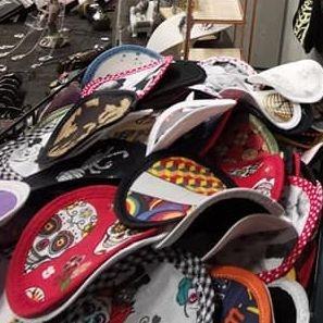 accessoires rock, coton réutilisable, coton lavable, coton écologique, accessoires crâne, accessoire tête de mort, accessoire Biker, accessoire rockabilly, accessoires pinup, Skull, crâne, tête de mort, cotons artisanaux, Rock'n'Babe, rocknbabe, rocknbabeshop