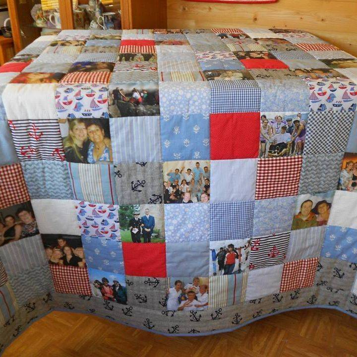 Retirement Photograph Quilt