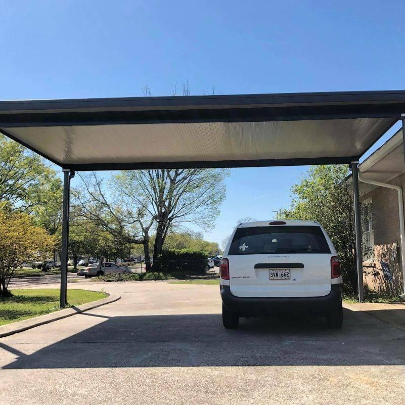 Aluminum carport cover