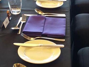 Table Linen Hire, Napkin Hire, Surrey, Hampshire