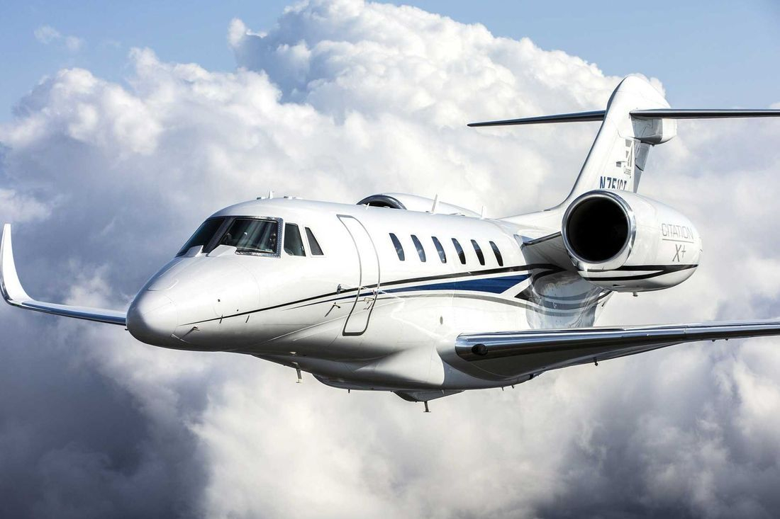Private jet Citation X