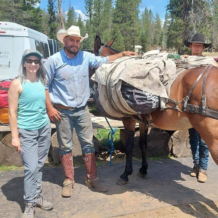 We love to see the excitement on our guest faces as they get ready to take off on their Yosemite trips.  We also take their guests in to our Ansel Adams Wilderness Lakes for fishing, camping, and relaxation.  The hike is well worth the time.