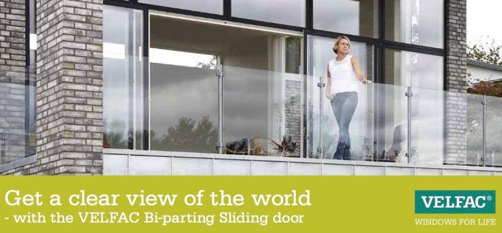 Velfac Bi-Parting Door