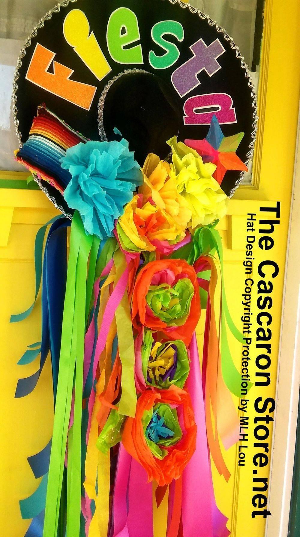 fiesta wreath hat design by MLH