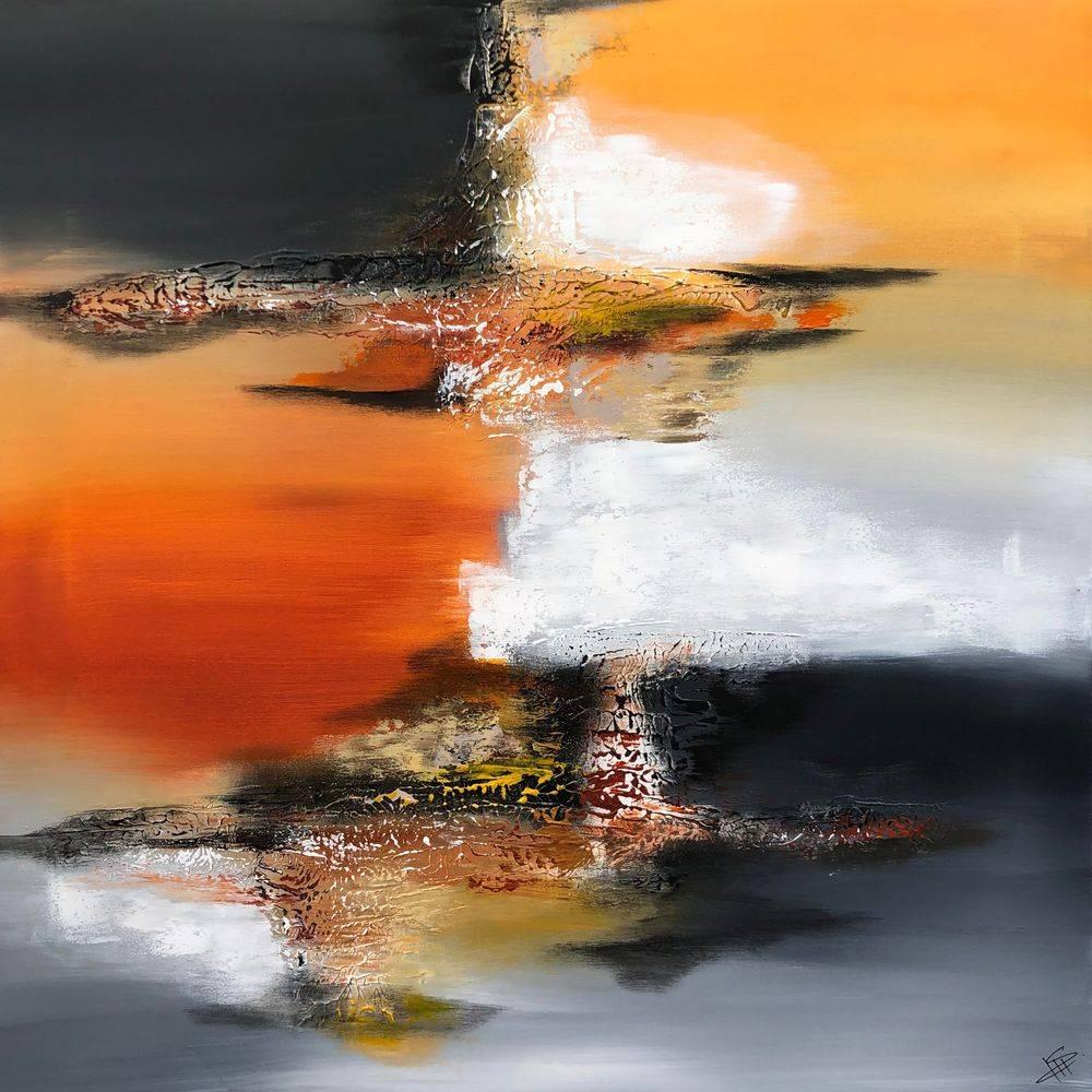 Abstrakte-farverige-malerier