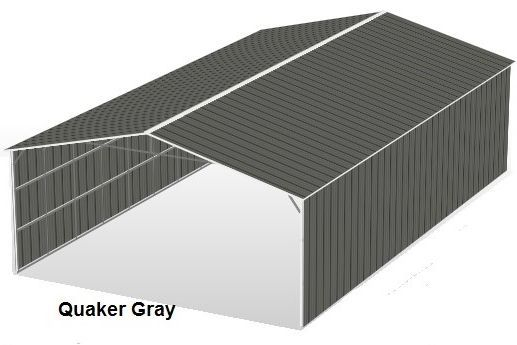 Quaker Gray Metal Structures