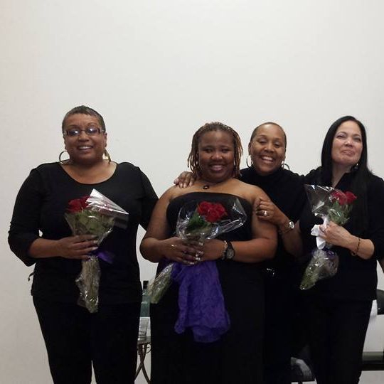 Carolyn, Hope, Bridgette, Rosa