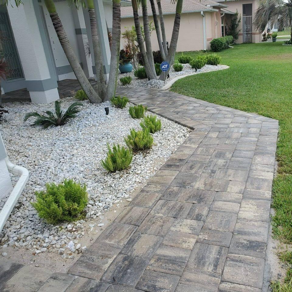pool deck bonita springs tricircle megastone white charcoal