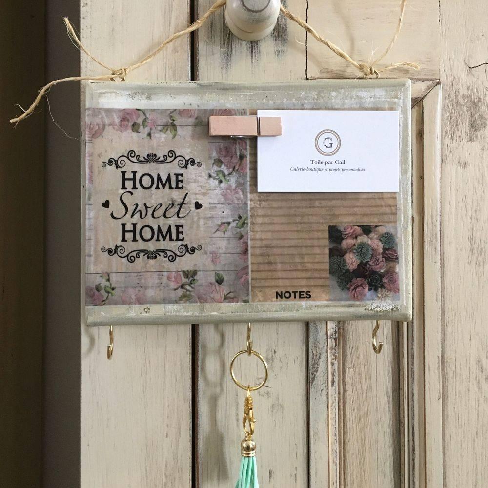 Home Sweet Home, Porte-clés