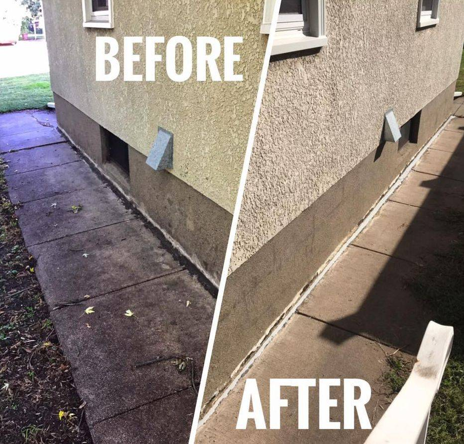 Foundation sealant caulking gaps golden valley mn