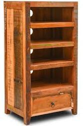 Wooden shelve cabitet