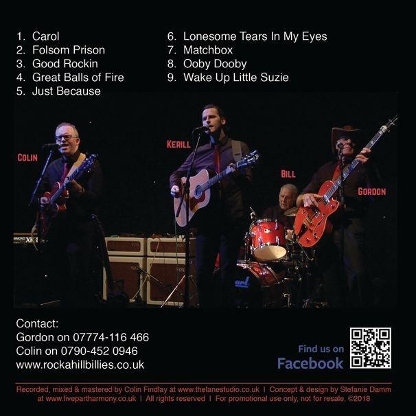 CD Rocka Hillbillies (back)