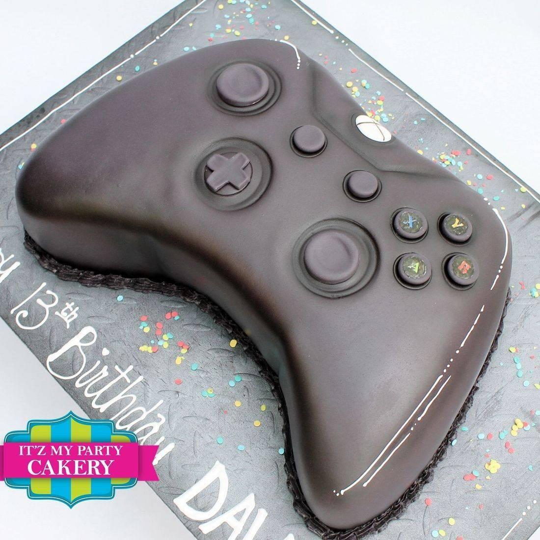 Xbox Controller Cake Dimensional Cake Milwaukee
