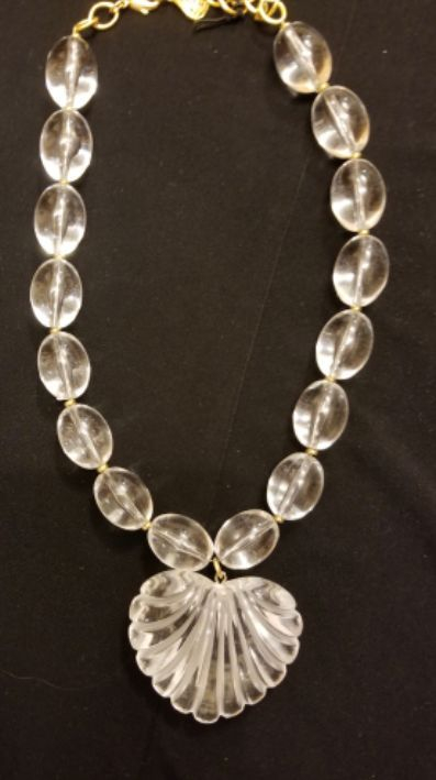 Designer Lucite Necklace