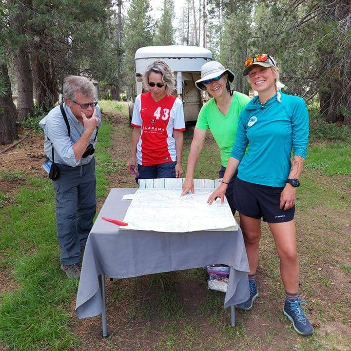 Southern Yosemite Mountain Guides and Minarets Pack Station as Pack Support.