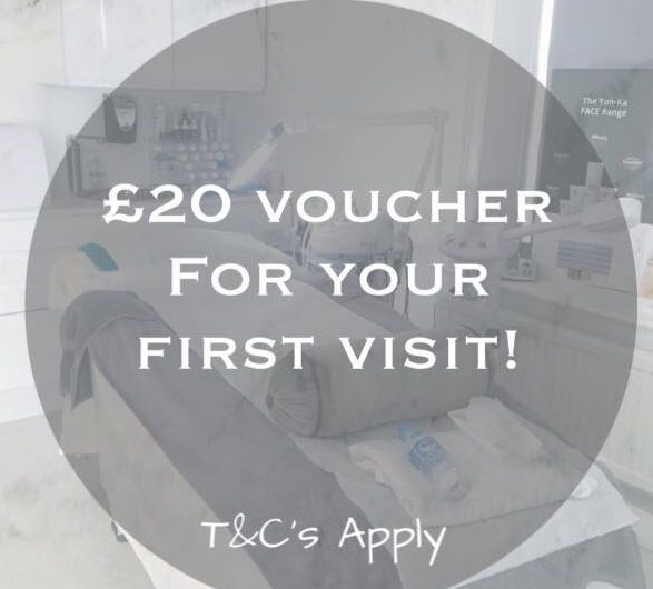 £20 voucher off first visit
