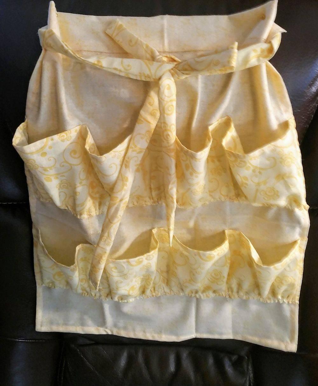 Farm Apron, Egg gathering apron, pocket apron, child apron