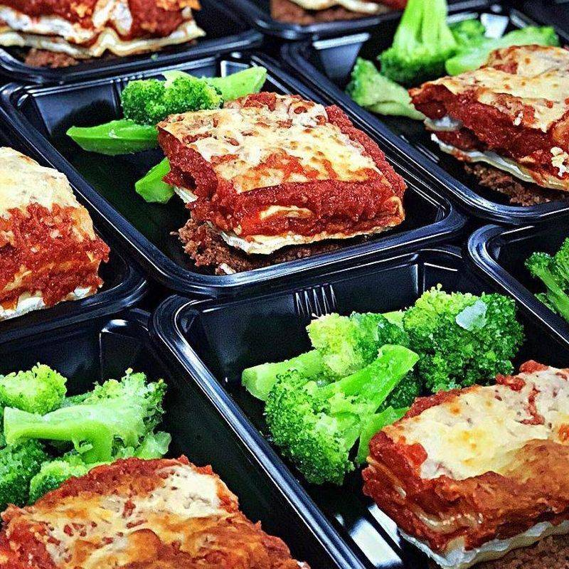 Italian lasagna Box meal