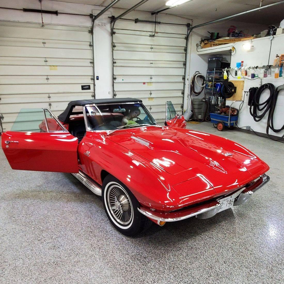 corvette kelowna detailing