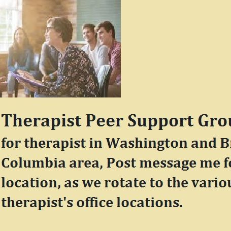 Arise Well Counseling Services LLC,Peer Therapist Support Groups in British Columbia and Bellingham.