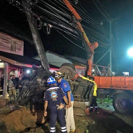 Krabi car crash