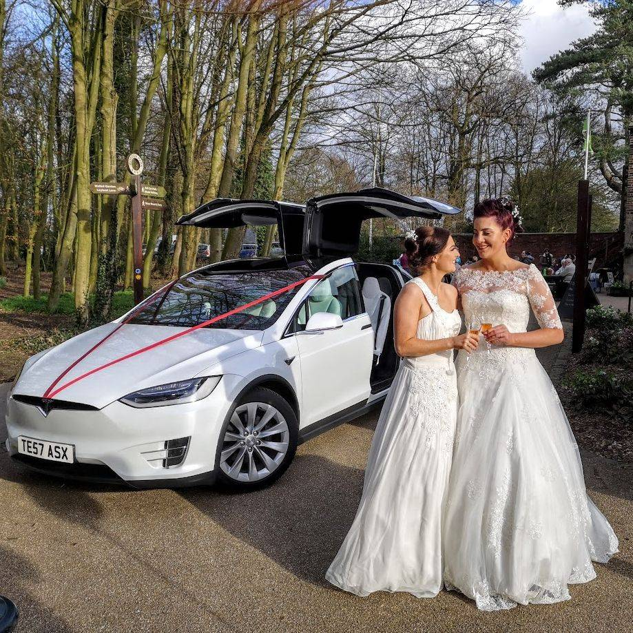 Falcon Tesla Wedding Cars Lancashire