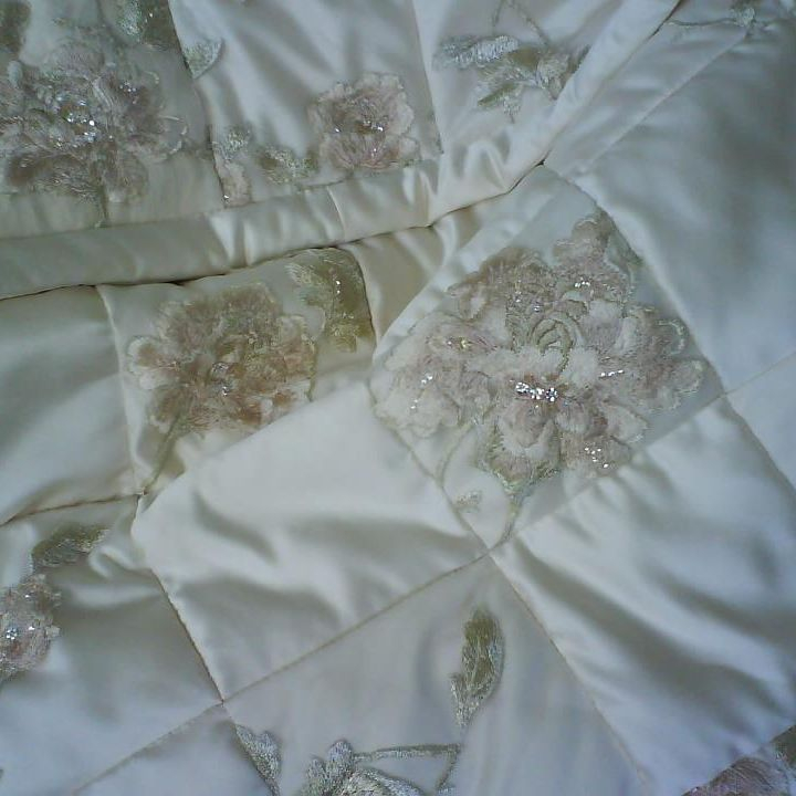 Wedding Dress Bed Runner