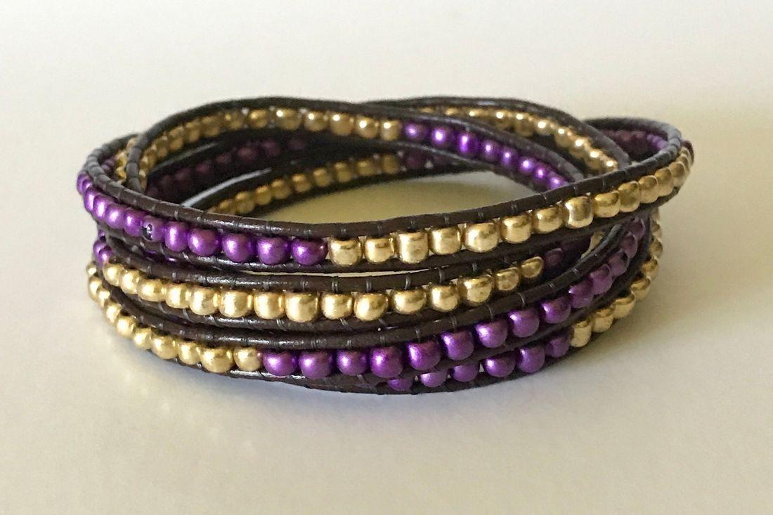 beaded wrap bracelet 253 bracelet Tacoma