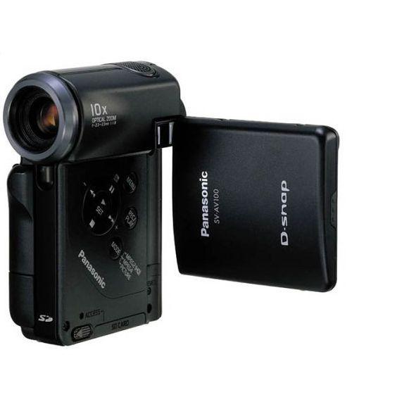 Panasonic D-snap SV-AV100 Camcorder