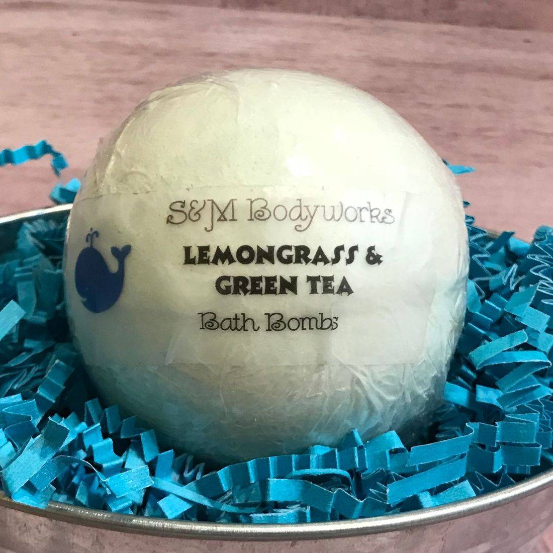 Bath Bomb, Fizzing, Moisturizing, Bubbles, Sensitive Skin Safe, Essential Oils