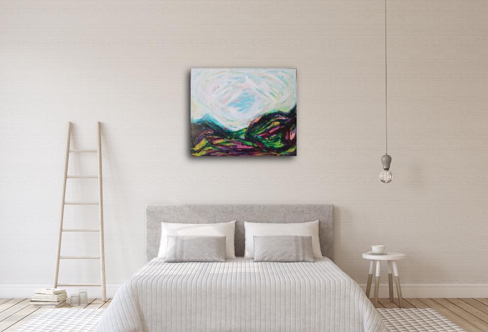 How to collect art Birdgirl Sasha French home gallery