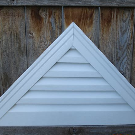 aluminum triangle gable vent