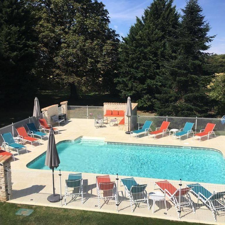 Gites dans les Champs pool