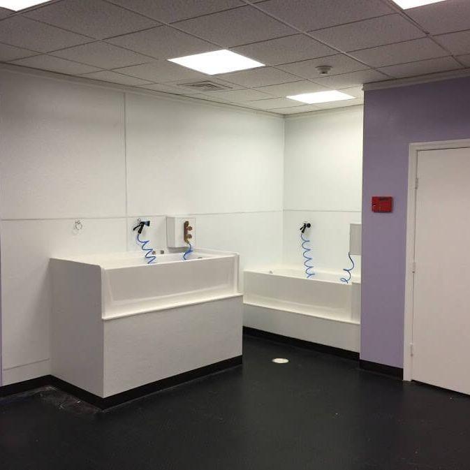 Commercial Bathroom Renovation Arcedo Construction